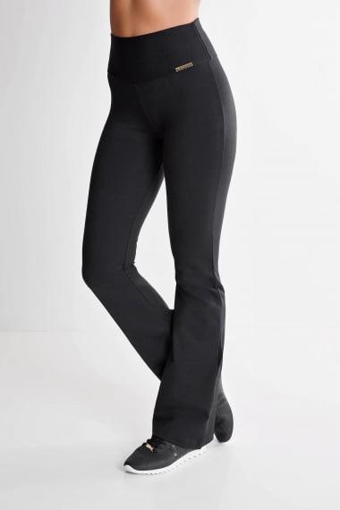 Calça Bailarina Preta Mulheres Altas - Comprimento Personalizado