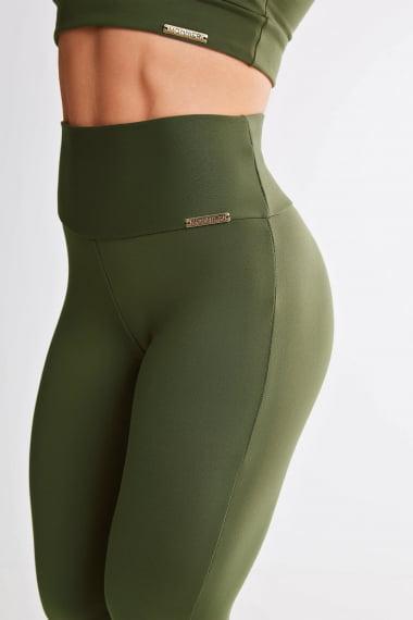 Calça Bailarina Verde Militar