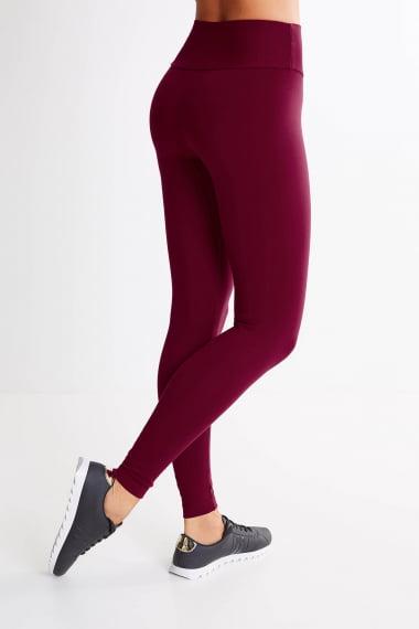 Calça Legging Bordo